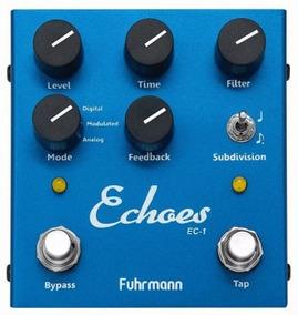 Pedal Fuhrmann Echoes Ec-1 | Delay | Tap Tempo | Guitarra