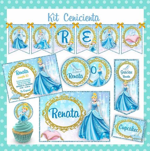 Kit Imprimible Cenicienta