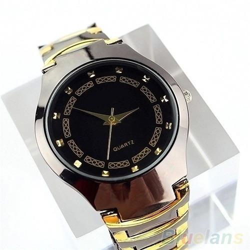 Relógio De Pulso Masculino, Pulseira De Aço, Quartz Rosra