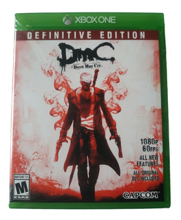 Devil May Cry Definitive Edition Xbox One Nuevo Envio Gratis