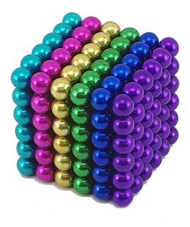 Neocube 12 Colores En Stock 5mm Caja Metal - 216 Bolitas