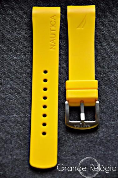 Pulseira Nautica 22mm Amarela