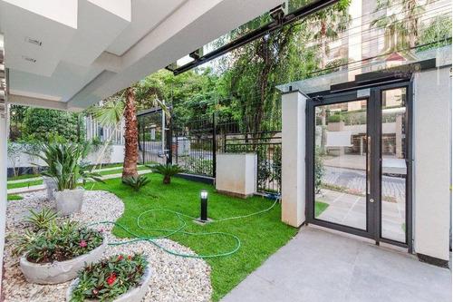 Vendo Apartamento Novo De Duas Suítes E Duas Vagas De Garagem, Novo, Bairro Petrópolis Em Porto Alegre Rs - Ap4116