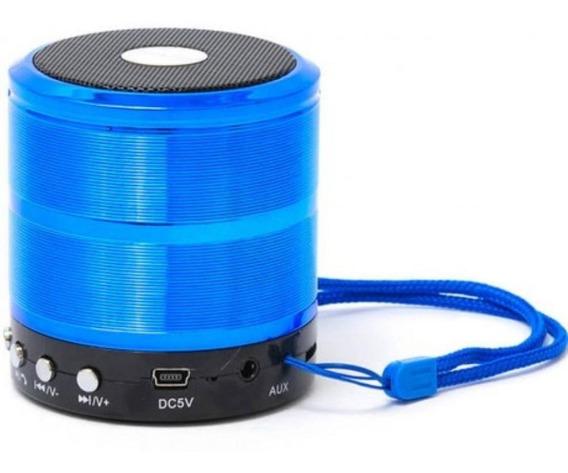 Mini Radio Fm Bluetooth Micro Sd Usb Mp3 Aux 5w Rms Ws887