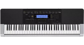 Teclado Musical Casio Wk240 76 Teclas Com Fonte