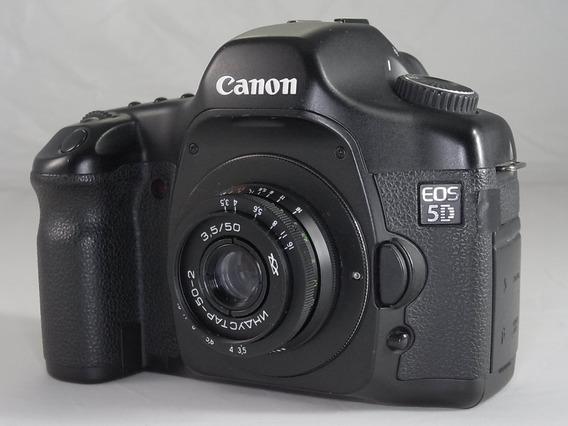 Lente Russia Industar 50-2 M42 F3.5 50mm Pancake Canon Sony