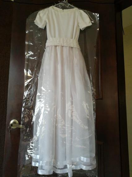 Vestido De Comunion Talla 10-12