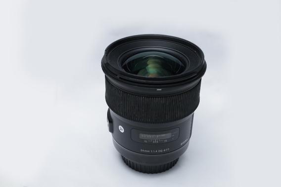Lente Sigma Art 24mm 1.4 Usada