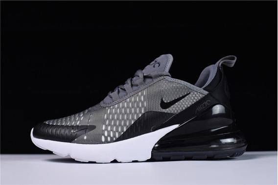 Zapatillas Nike Air Max 270 Color Gris Oscuro