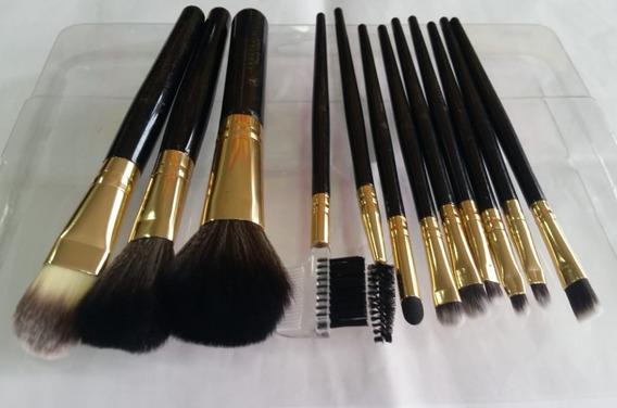 Kit Jogo 12 Pinceis Profissional Maquiagem Importado Top .