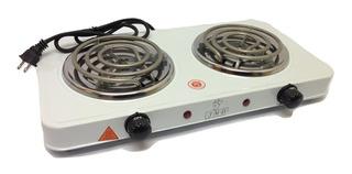 Cocina Electrica 2 Dos Hornillas 2000w Portatil Gs
