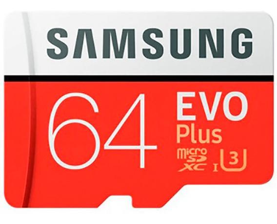 Cartão De Memória Original Samsung Uhs - 3 64gb Micro Sdxc