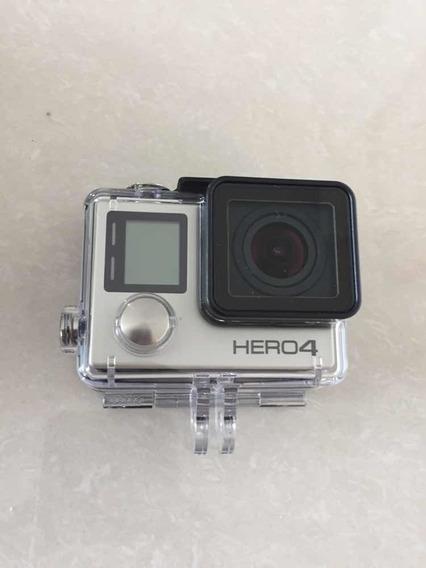 Gopro Hero 4 + Case + Acessórios
