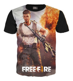 Camiseta Free Fire Gamer 2019 Exclusiva Algodón Xl