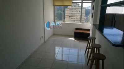 Apartamento A Venda No Bairro Itararé Em São Vicente - Sp. - V1114-8451
