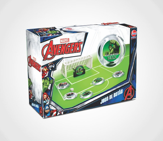 Jogo De Botão Avengers By Lider
