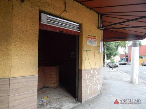 Salão Para Alugar, 45 M² Por R$ 3.500,00/mês - Vila Baeta Neves - São Bernardo Do Campo/sp - Sl0430
