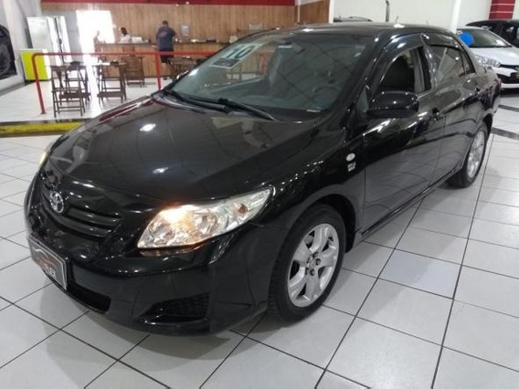 Toyota Corolla Xli 1.8 Flex 16v Aut. 2010 Preto Completo