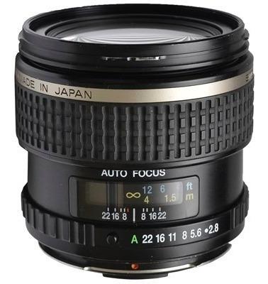 Objetiva Pentax-fa 645 45mm F/2.8 Smc - Usada