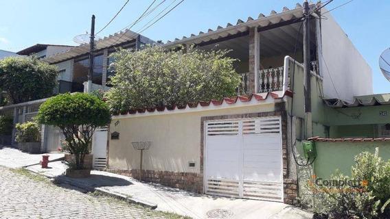 Casa Com 2 Dormitórios À Venda, 197 M² Por R$ 610.000,00 - Taquara - Rio De Janeiro/rj - Ca0240