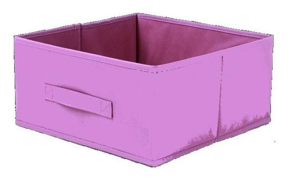 2 Cajas Organizadoras Plegables - X2 Cajones De Tela