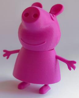 Peppa Pig - Impresión 3d