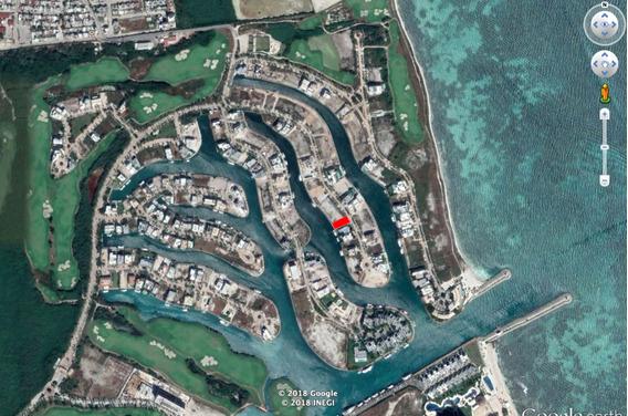 Terreno Puerto Cancun 800m2 En Canal