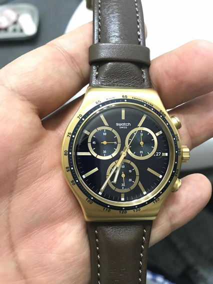 Swatch Yvg401 Vdome Leather