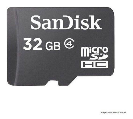 Cartão De Memória Micro 32gb Sandisk 100% Original Barato