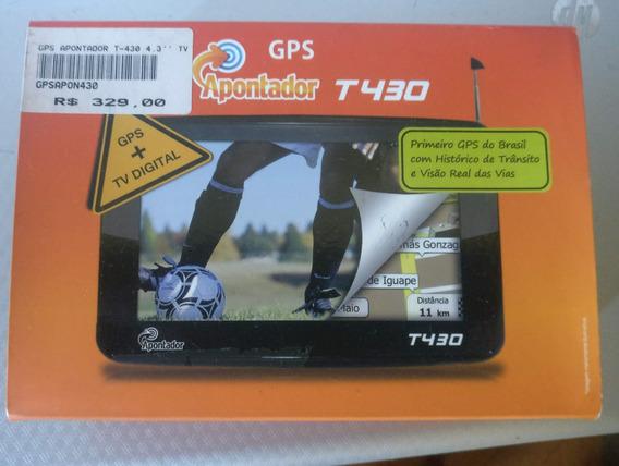 Gps Apontador T430 Na Caixa Mapa 2019 Igoprimo