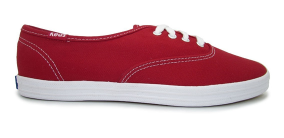 Tenis Keds Wf31300 Champion Red Canvas Rojo