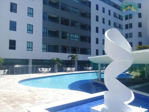 Imagem 1 de 15 de Apartamento Mobiliado Para Locação - Praia De Tambaú, - João Pessoa - Pb - Ap1237