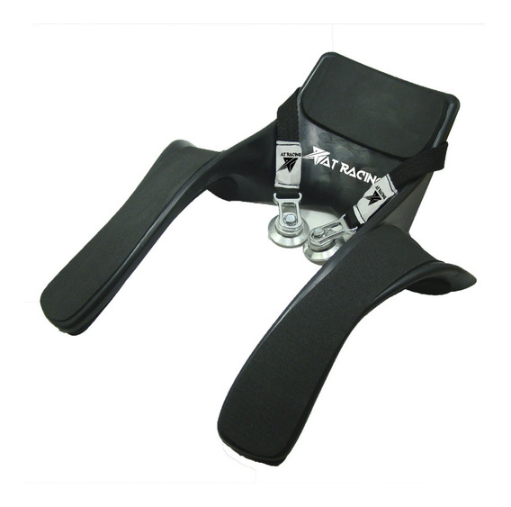 Protector Cervical Tipo Hans + Clips At Racing