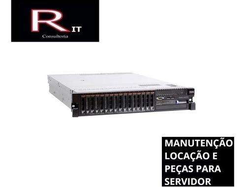 Servidor Ibm X3650 M3 2 Xeon Sixcore 96gb