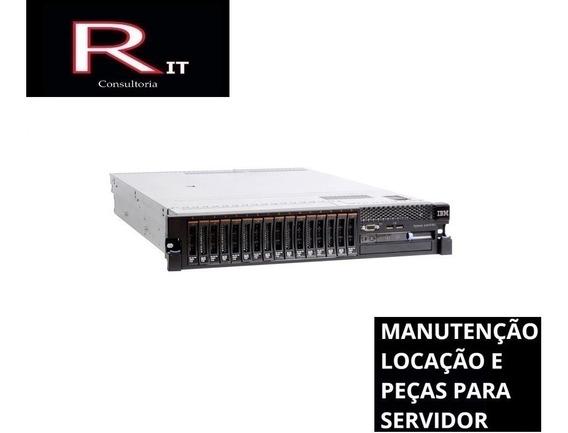 Servidor Ibm X3650 M3 2 Xeon Sixcore 128gb