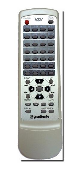 Controle Para Home Theater Hts-521 Gradiente Original