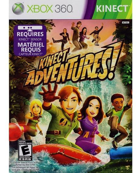 Kinect Adventures Xbox 360 Original Seminovo