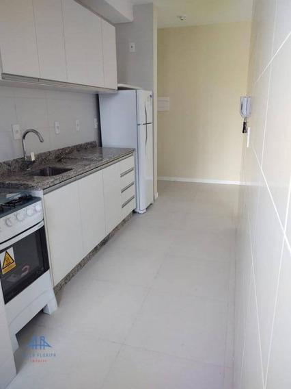 Apartamento Com 2 Dormitórios Para Alugar, 1 M² Por R$ 2.200/mês - Trindade - Florianópolis/sc - Ap2828