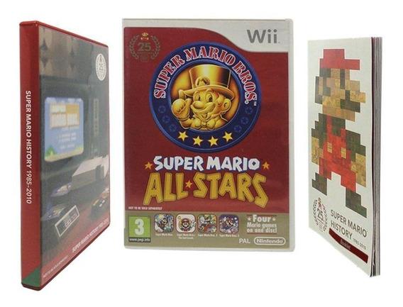 Super Mario Allstars Limited Edition Wii Europeu Física