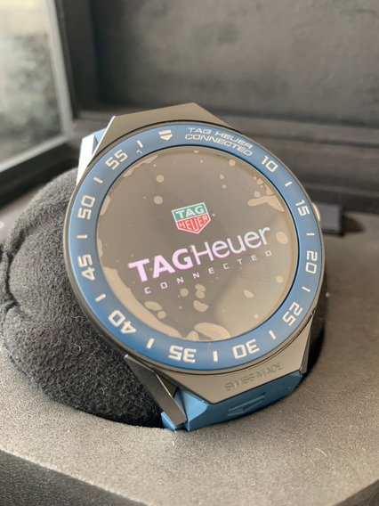 Tag Heuer Connected Modular Azul