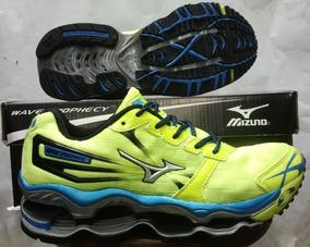 Tenis Mizuno Prophecy 2 Verde E Azul Nº38 Ao 43 Original