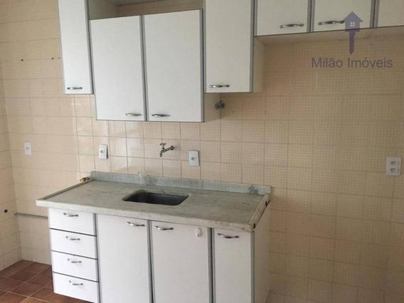 Apartamento 3 Dormitórios Para Locação, 70m², Edifício Porangai E Maria Bonita, Jd. Simus Em Sorocaba/sp - Ap0987