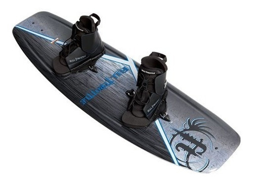 Full Throttle Aqua Extreme Wakeboard Kit (negro / Azul, 55,1