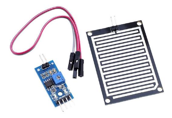 Modulo Sensor De Chuva Arduino Pic