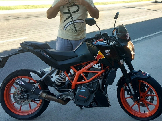Ktm Duke 390 C/ Jeskap Gp3 Top
