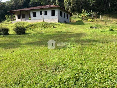 Chácara Com 1 Dorm, São Lourenço, São Lourenço Da Serra - R$ 375 Mil, Cod: 4157 - V4157