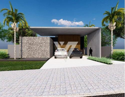 Casa Com 3 Dormitórios À Venda, 242 M² Por R$ 1.850.000,00 - Alphaville Nova Esplanada I - Votorantim/sp - Ca1747
