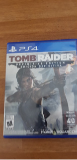 Tomb Raider 2013 Ps4