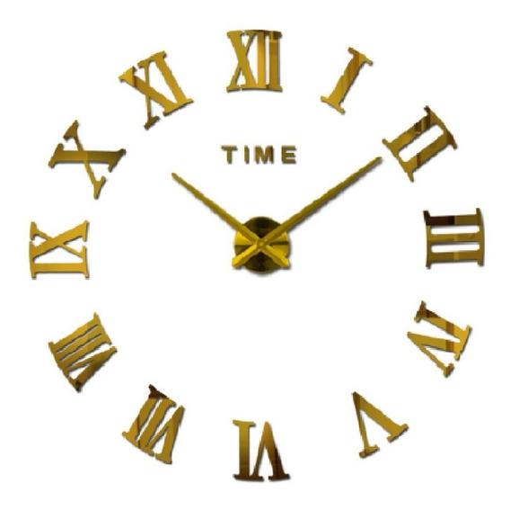 Reloj Numeros Romanos Gigante 47