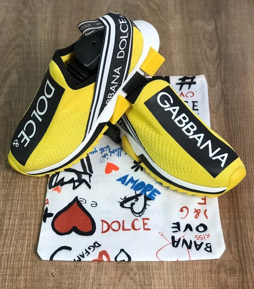 Tênis Dolce & Gabbana - Importado Premium